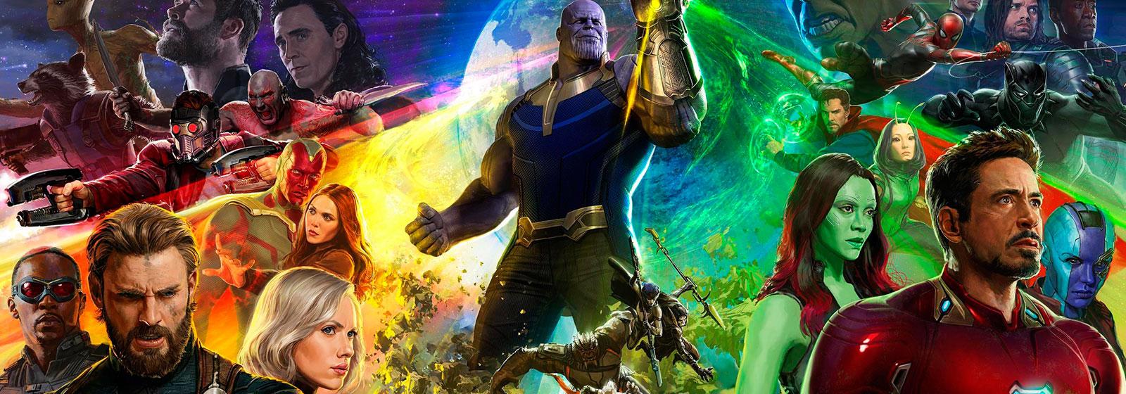 Vingadores: Guerra Infinita, Ganha Cinco Novos Cartazes.