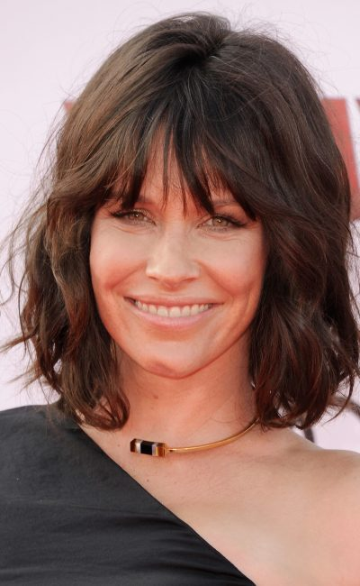 Evangeline Lilly arrives