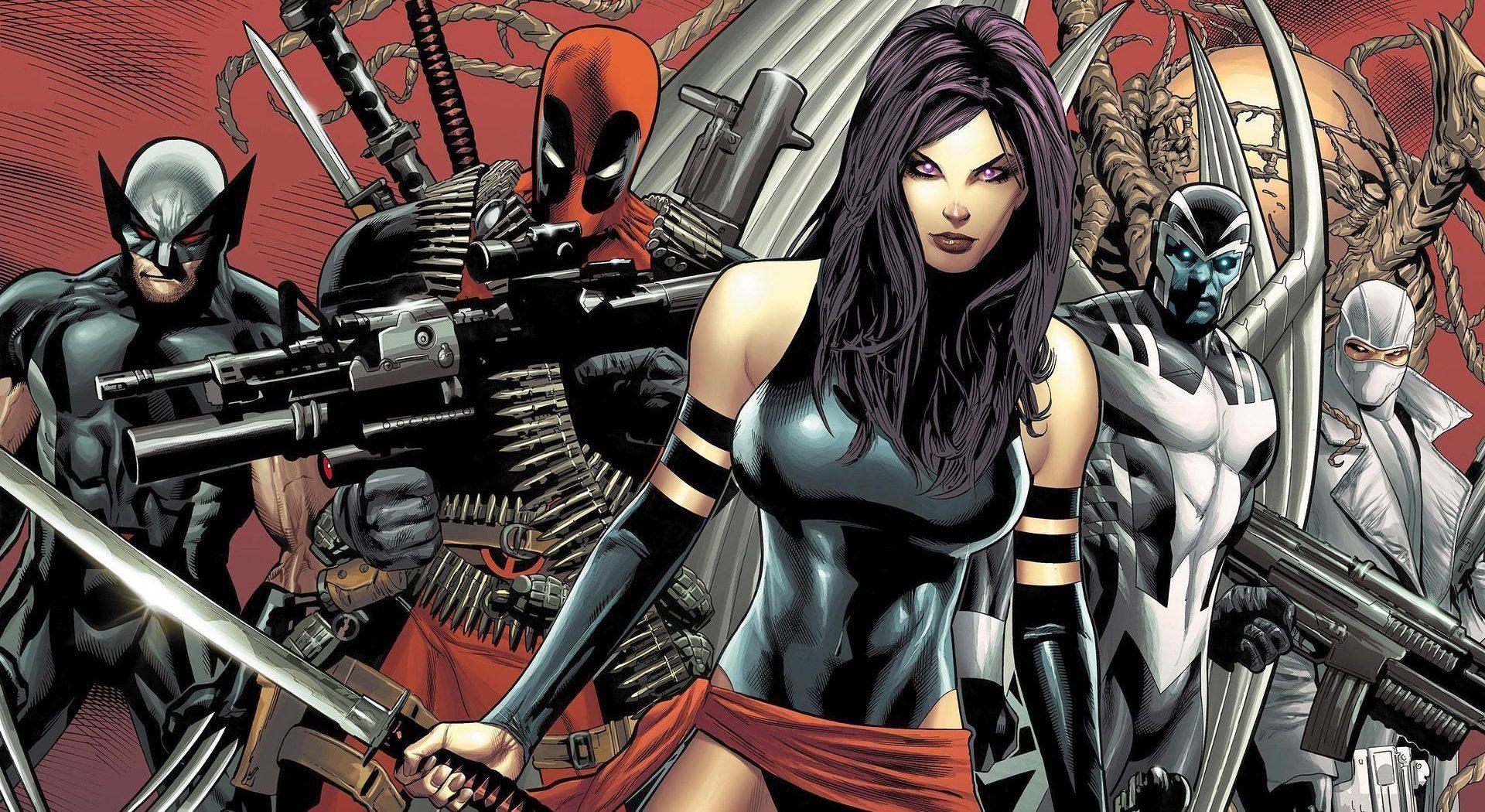 X-Force Personagens Principais