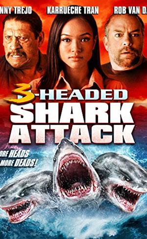 O Ataque do Tubarão de Três Cabeças