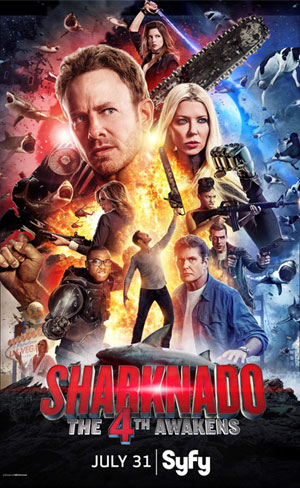 Sharknado - Corra para o Quarto