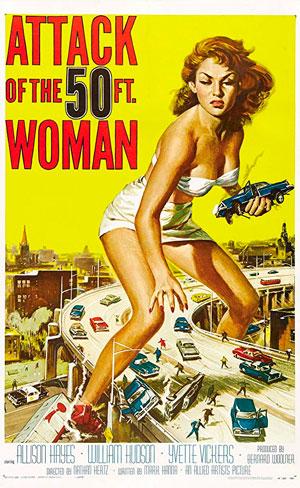 O Ataque da Mulher de 15 Metros