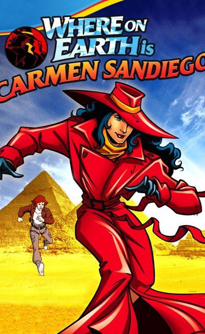 Em que lugar da terra está Carmen Sandiego?