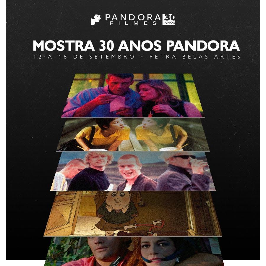 CONFIRA A PROGRAMAÇÃO ESPECIAL DA SEMANA DE COMEMORAÇÃO DOS 30 ANOS DA 'PANDORA FILMES'