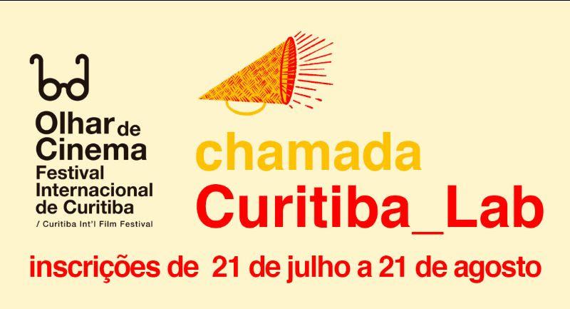 Estão abertas as inscrições para o CURITIBAlab - laboratório de desenvolvimento de projetos do Olhar de Cinema - Festival Internacional de Curitiba