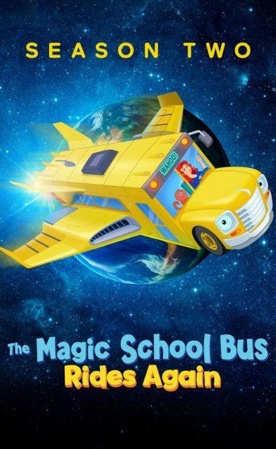O Ônibus Mágico Decola Novamente Rumo ao Espaço