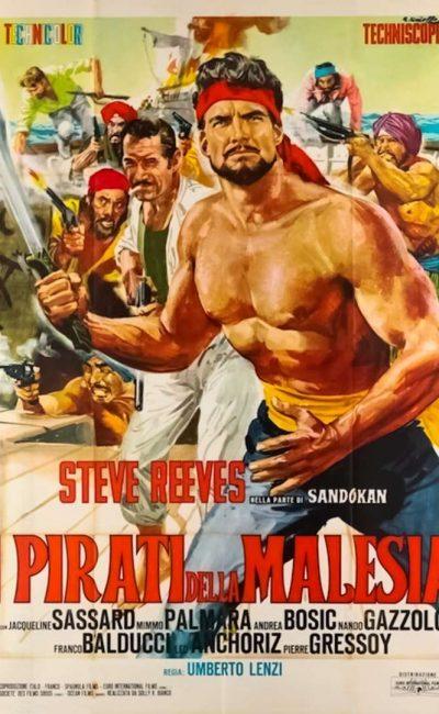 Sandokan e os Piratas da Malásia