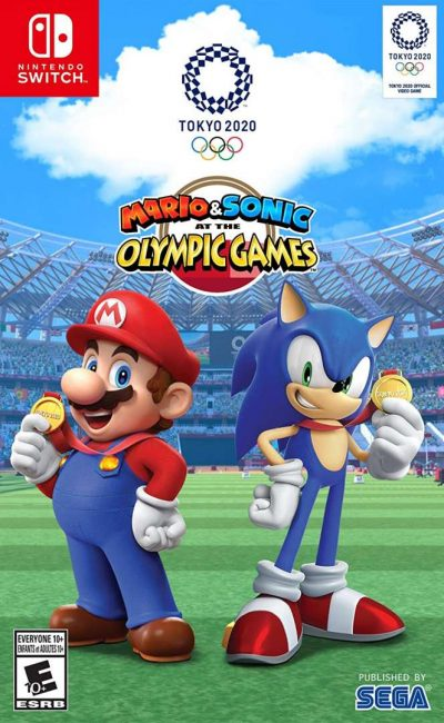 Nintendo Mario Sonic at the Olympic Games Tokyo 2020