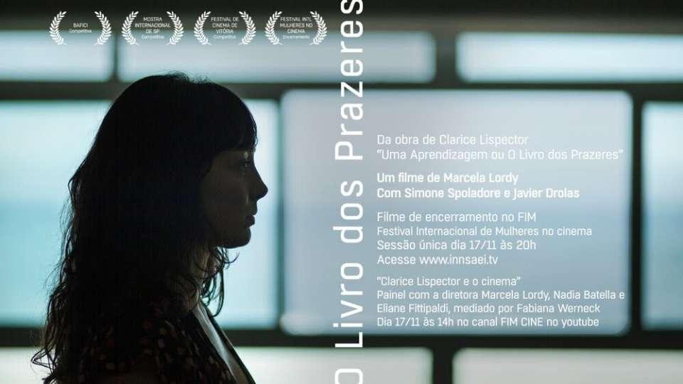 Filme O LIVRO DOS PRAZERES será exibido no Festival Internacional de Mulheres no Cinema