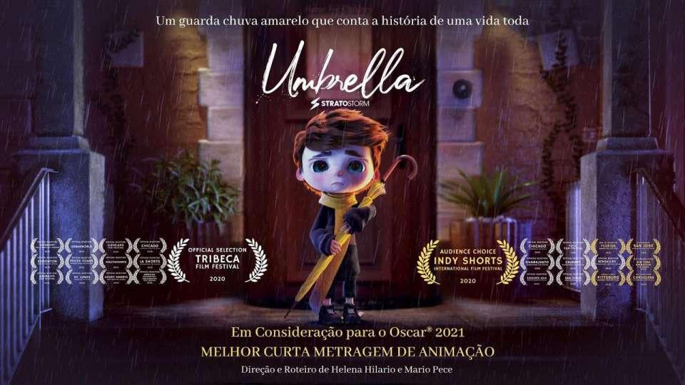 """Estreia: Qualificado para o Oscar® 2021, """"Umbrella"""" é lançado gratuitamente no Youtube"""