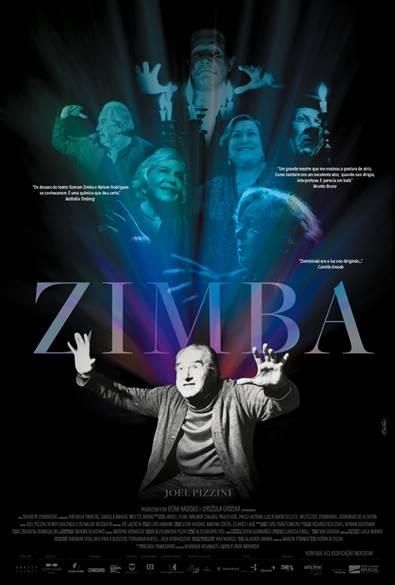 Primeira exibição do filme ZIMBA, de Joel Pizzini no Festival ÉTV 2021